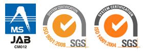 MSJAB ISO9001:2008 ISO14001:2004